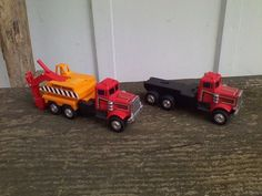 Super Shovel Semi Tractor Truck Trailer Diecast Plastic Toy Vehicles  #Unbranded #unknown