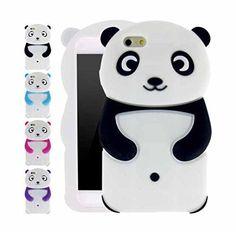 "iPhone 6 (4.7"") Case, Allteli 3D Panda Protective Case for Apple iPhone 6 (4.7"")"