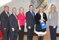 Small Business award presentation