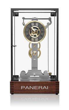 Luxury Table Clock #officinepanerai #panerai #tableclock #clock #luxury #creativeacademy