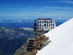 The New Goûter Refuge At 3,835 M On Mont Blanc - Picture gallery
