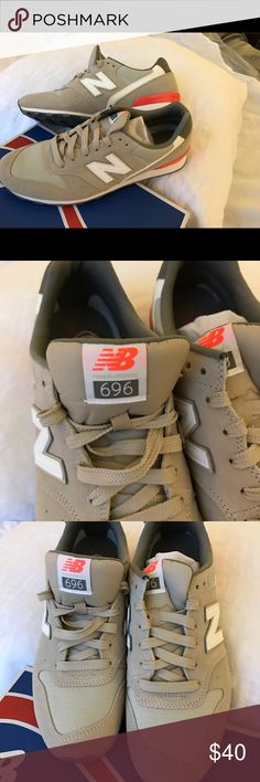 New never worn New Balance tan suede classic New Balance tan suede classics fashion/ lifestyle sneaker.  In original box. New Balance Shoes Sneakers