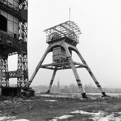 From a series of photographs by Wojciecha Wilczyka, documenting Poland´s post-industrial landscape