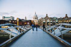 LONDON, 2016 » Özlem Yavuz | Photography Londra, London, Millenium Bridge