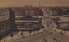 Mathenesserbrug gezien vanaf Vierambachtsstraat, Rotterdam