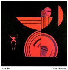 'Starr', 1931 Vasily Kandinsky