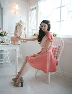 pink dress fobby