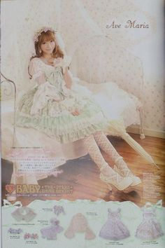 Yurisa (twitter @baby_yurisa) She is a kera model of 'Baby, the stars shine bright' & 'Alice and the pirates' She's just beautiful ♥