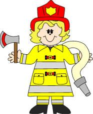Female Firefighter Coloring Pages Printable | if using the b w version scissors glue paper printer