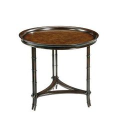 Pearson Furniture | Round Tray Side Table
