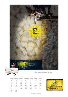 Der Räuber Hotzenplotz 2015   Dumont Kalenderverlag: Kalender Shop - Unsere Kalender