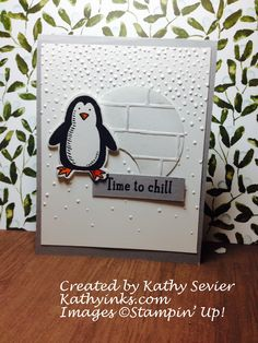 FMS #203 Stampin' Up! Snow Place Kathyinks
