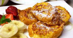 殿堂入りレシピ♪人気のカフェスイーツ☆ふわふわでジュワ~と甘いフレンチトースト♪バゲットや食パンでも♪つくれぽ1000件