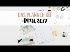 Video zum dp Planner Kit März 2017 mit kleinem Tutorial von Julia Klein für www.danipeuss.de #PlannerKitMärz2017 #danipeuss