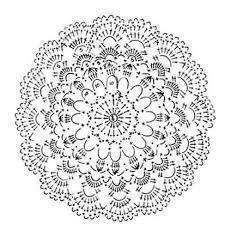 Resultado de imagen de rosetones crochet