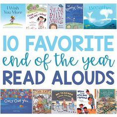 Today on the blog I talk about my favorite end of the year read alouds The end of the year brings up different feelings for different students Its important to acknowledge and affirm ALL feelings so these titles cover a range Head over to read more about each book and get ideas for followup discussions and activities Link in Profile wwwstarrspangledplannerendoftheyearreadalouds