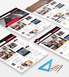 epira wordpress home layout House Layouts, Wordpress Theme, Magazine, House Floor Plans, Magazines, Warehouse, Newspaper