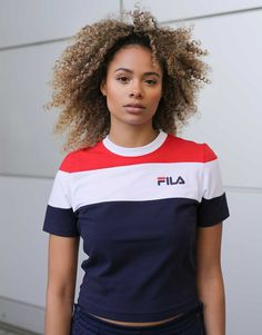 fe4de745e8cd3 34 Best Fila outfit images | 90s fashion, Feminine fashion, Stylish ...