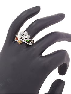 Tantalizing CZ Stone ring rent in india. Tantalizing CZ Stone ring affordable price at Indias best rental and shopping Site - www.HiFlame14.com