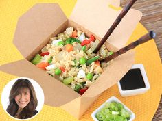 Hungry Girl: My Healthy Cauliflower Fried Rice Tastes Even Better Than Take-Out http://greatideas.people.com/2015/07/27/hungry-girl-cauliflower-fried-rice-recipes/