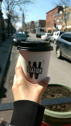 Station W Enjoy mornings with a fresh cup of coffee in Verdun Find it on Crema app! Cheap Coffee Mugs, Buy Coffee Beans, Nitro Coffee, Coffee Table Base, Vodka Drinks, Coffee Branding, Coffee Pods, Espresso Coffee, Starbucks Coffee