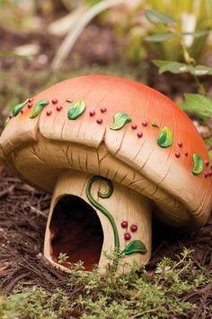 Mushroom Toad House