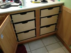 Superieur Bathroom Storage Cabinets With Pull Out Shelves Drawer And Wood Cabinet  Doors As Well As Slide Out Kitchen Cabinet Shelves Plus Sliding Drawer  Cabinet, ...