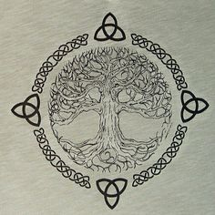 What They Mean - Celtic Tree of Life -Tattoo Symbols and What They Mean - Celtic Tree of Life - tree of life, YggdrasilViking tree of life, Yggdrasil Tree Tattoo - I like this one the most, but would add some shading. Yggdrasil Tattoo, Norse Tattoo, Viking Tattoos, Tattoo Symbols, Celtic Tree Tattoos, Celtic Tattoos For Men, Tree Of Life Tattoos, Nature Tattoos, Body Art Tattoos