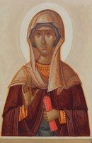 Parascheva by Gabriel Toma Chituc Byzantine Art, Religious Icons, Catholic Art, Orthodox Icons, Sacred Art, Gabriel, Saints, Religion, Christian