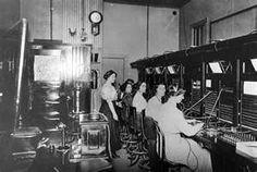 phone operators @ switchboard
