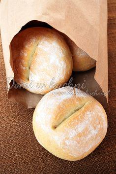 Bułeczki z przedziałkiem Bread Rolls, Menu, Sweets, Cooking, Recipes, Food, Breads, Drink, Natural