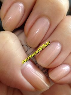 CND Shellac layering Moonlight & Roses (1 coat) over Beau (2 coats) by Cherriesweet, via Flickr
