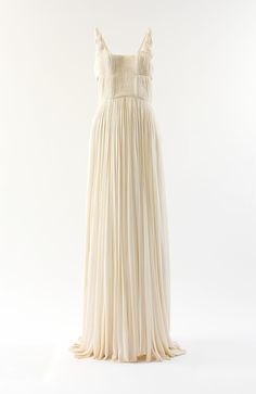 Vintage dress from one of my all time favorite clothing designers, Madame Gres - Timeless 1971 vintage silk evening gown