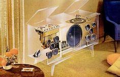 "danismm: "" Motorola transparent Stereo, 1963 via naucai technika "" Vinyl Record Player, Vinyl Records For Sale, Record Players, Vintage Records, Vintage Music, Vintage Ads, Custom Consoles, New Music Releases, Retro Futuristic"