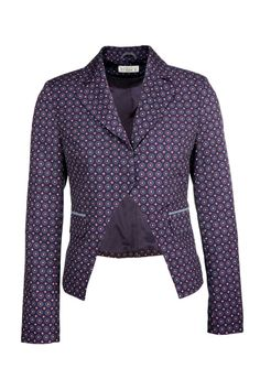 """Das stylishe """"Tarbot"""" #Print-Jackett mit angesagtem #Krawattenmuster überzeugt mit seiner außergewöhnlichen, stark #taillierten Schnittführung. Die frackähnliche Jacke lässt sich perfekt als modisches Upgrade zu schmalen Hosen kombinieren. http://bevonboch.com/Produkt/bevonboch/Mode/Blazer_und_Jacken/Tarbot_Print_Jackett.html?campaign=bvbpin by Brigitte von Boch #bevonboch"""