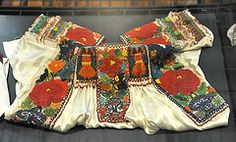 Beaded Blouse Puebla Mexico (Teyacapan) Tags: museum mexico beads clothing mexican museo textiles puebla ropa blouses nahua chaquira chinapoblana chilac