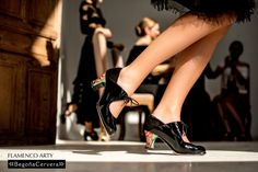 Flamenco ARTY Novedad 2015 www.begonacervera.com Flamenco Shoes, Tango Shoes, Tango Dance, Tango Dress, Salsa Dancing, Dance Fashion, Dance Wear, Amazing Women, Christian Louboutin