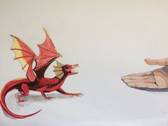 Dragon inspiré de ceux de Game Of Thrones 🐉🔥