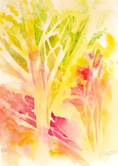 Abstract Watercolor Paintings | Abstract Watercolor by Lisa Strazza