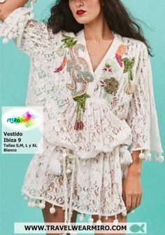 Vestido Ibiza 9, Vestidos - Ropa de viaje, ropa de crucero, antica sartoria, ropa de vacaciones -  Travel Wear Miro