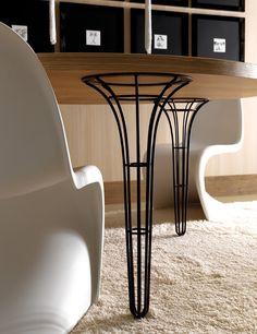 Round aluminium table ARTÙ | Round table - Esedra by Prospettive