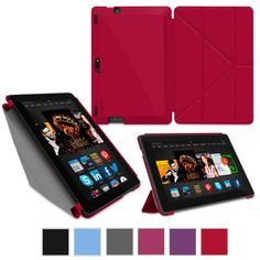 rooCASE Case for Amazon All-New Kindle Fire HDX 8.9 - Slim Shell Origa