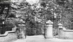 Boggart Hole Clough Rochdale Road entrance 1900. Blackley, Manchester.