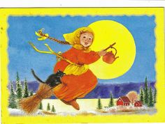 Finnish Easter Witch.