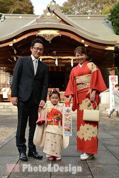 """七五三 Shichi-go-san, literally """"Seven-Five-Three"""", is a traditional rite of passage and festival day in Japan for three- and seven-year-old girls and three- and five-year-old boys, held annually on November 15 to celebrate the growth and well-being of young children"""