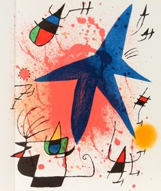 Joan Miro - Leiris Mourlot Volume I