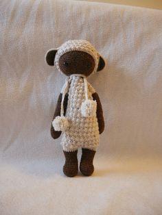 Doudou Lupo le Mouton Lalylala Peluche au crochet par LizBoutik