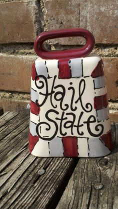 MSU Cowbell by DandyDoodlez on Etsy, $18.00 That one is cute- gotta find the baby a cute one for its room