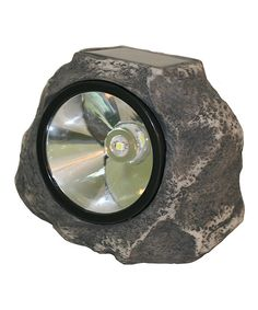 Take a look at this Gray Rock Solar Light on zulily today!