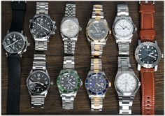 Our update today features five Rolex watches, a Tudor Ranger, Kobold Arctic Diver, IWC Ingenieur, Gerald Genta Chrono, and an Omega 'America's Cup' Seamaster.